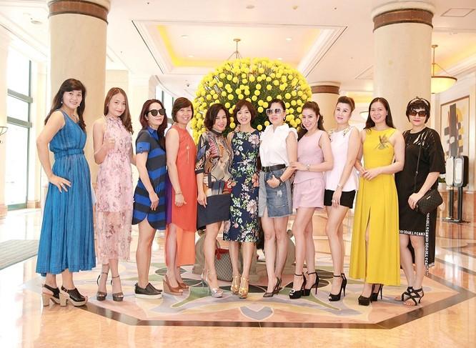 Thu Hiền trong một sự kiện của Câu lạc bộ Mạng lưới các nữ lãnh đạo quốc tế tại Hà Nội