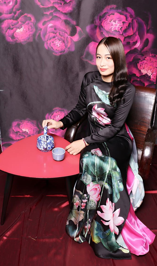 Á hậu doanh nhân Thu Hiền