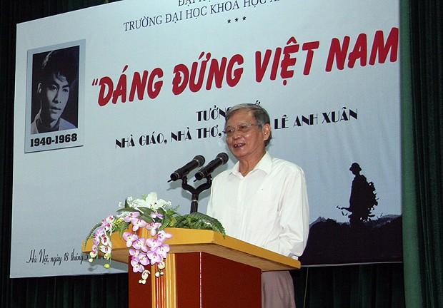Hội thảo về sự nghiệp văn chương của Lê Anh Xuân