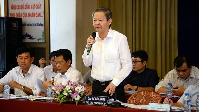 Miễn nhiệm chức danh Phó chủ tịch UBND TP.HCM của ông Lê Văn Khoa ảnh 1