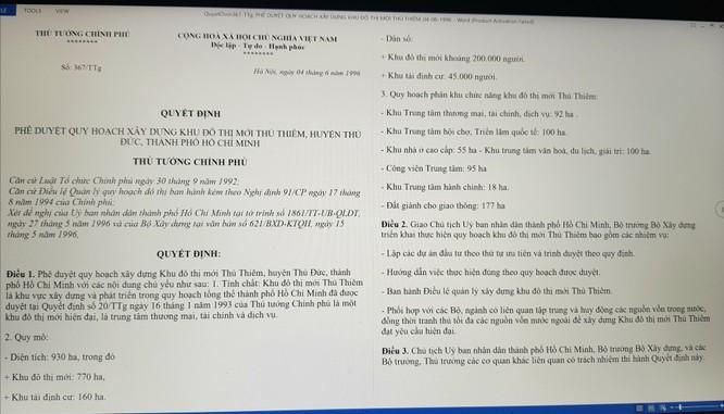 GS Đặng Hùng Võ: Không có bản đồ quy hoạch chung tỷ lệ 1/5.000 KĐT Thủ Thiêm! ảnh 2