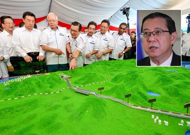 Malaysia đình chỉ thi công tuyến đường sắt Bờ biển phía Đông hợp tác với Trung Quốc ảnh 1