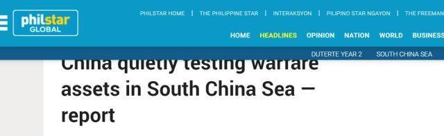 Trung Quốc đang thử nghiệm thiết bị chiến tranh điện tử ở Biển Đông ảnh 1