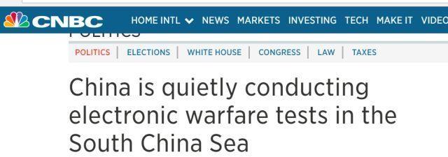 Trung Quốc đang thử nghiệm thiết bị chiến tranh điện tử ở Biển Đông ảnh 2