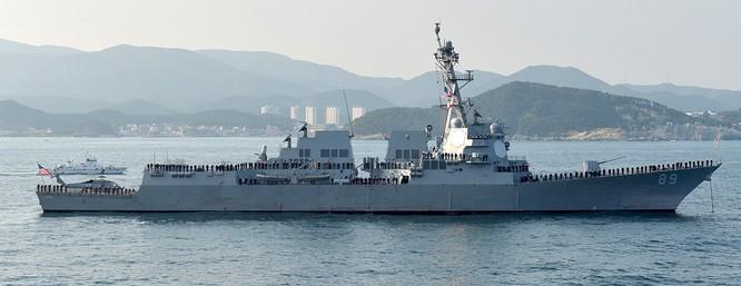 Mỹ bất ngờ đưa tàu chiến đi qua eo biển Đài Loan bất chấp cảnh báo của Trung Quốc ảnh 1