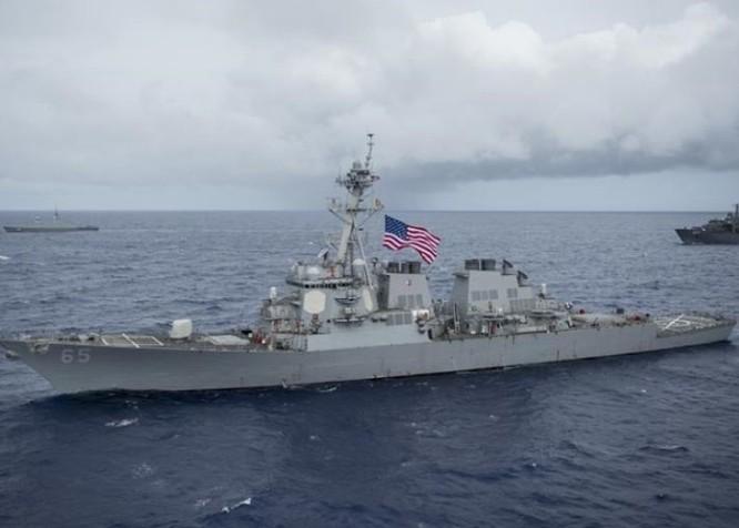 Mỹ bất ngờ đưa tàu chiến đi qua eo biển Đài Loan bất chấp cảnh báo của Trung Quốc ảnh 2
