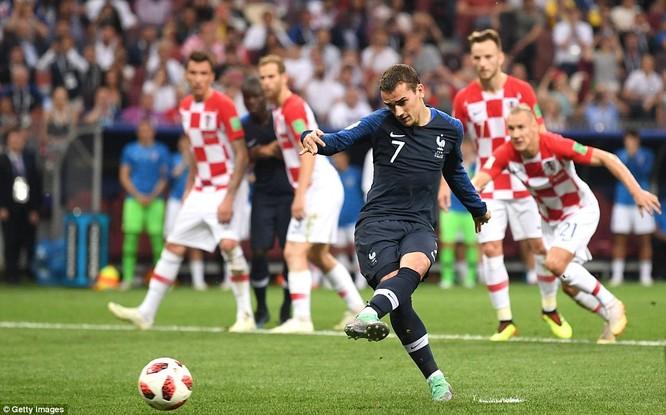 Thắng thuyết phục Croatia, Pháp vô địch World Cup 2018 ảnh 4