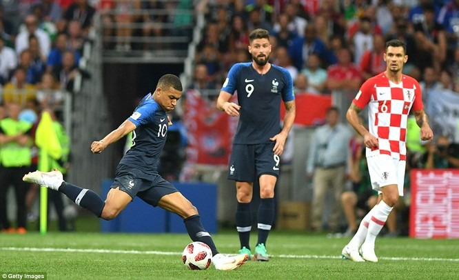 Thắng thuyết phục Croatia, Pháp vô địch World Cup 2018 ảnh 1