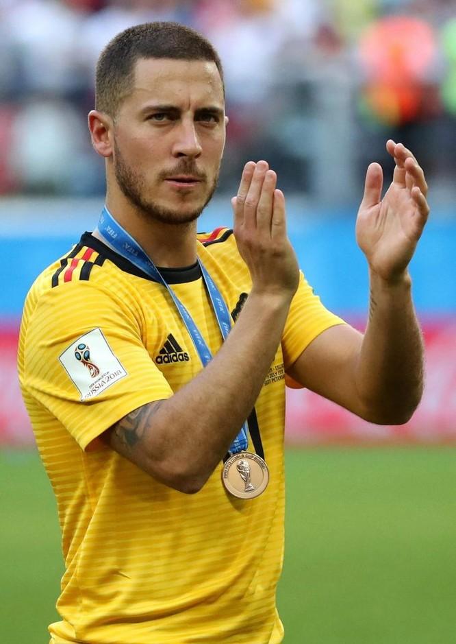 CLB Hoàng gia Tây Ban Nha Real Madrid dự chi 300 triệu euro mua Hazard và Courtois ảnh 3