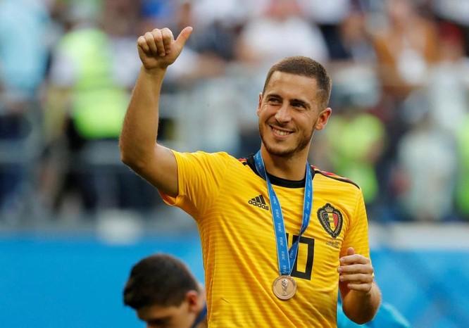 CLB Hoàng gia Tây Ban Nha Real Madrid dự chi 300 triệu euro mua Hazard và Courtois ảnh 1