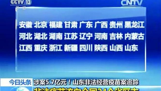 Trung Quốc: Bê bối Vaccine giả và kém chất lượng gây chấn động ảnh 1