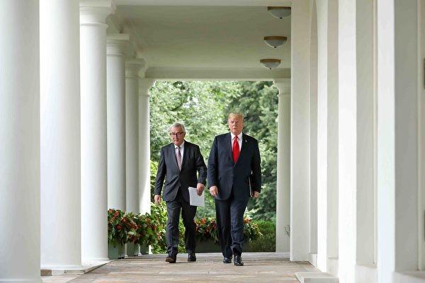 Chiến tranh thương mại: Mỹ và EU thỏa hiệp, bắt tay nhau cùng đối phó Trung Quốc ảnh 1