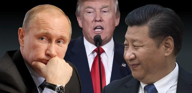 """Ba nhà chiến lược Putin, Tập Cận Bình và D. Trump tụ họp để đánh """"ván cờ"""" chiến lược mà thế giới trước đây chưa có ảnh 4"""