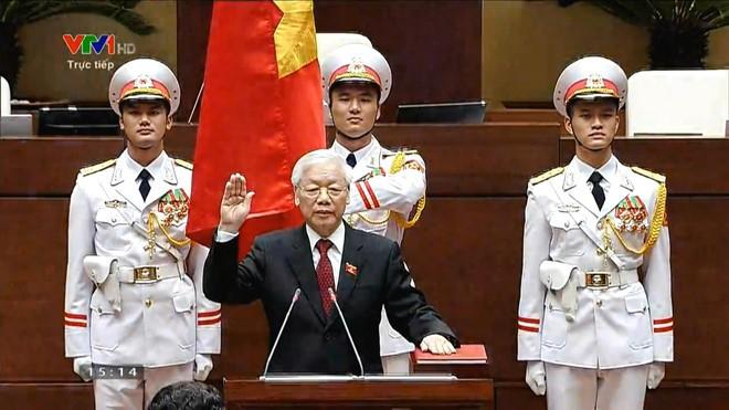 """Tổng bí thư, Chủ tịch nước Nguyễn Phú Trọng là mẫu người """"cần, kiệm, liêm chính, chí công, vô tư"""" ảnh 1"""