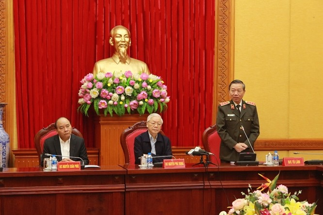 """Tổng bí thư, Chủ tịch nước Nguyễn Phú Trọng: """"CAND: Quân tinh, tướng mạnh, chủ động nêu gương, kỷ cương trách nhiệm"""" ảnh 1"""