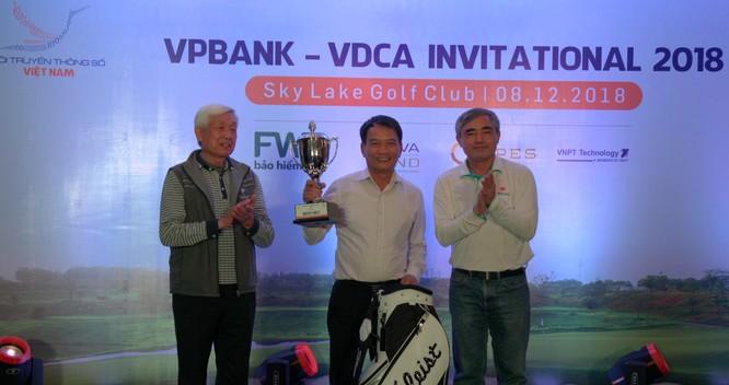 """Hội Truyền thông số Việt Nam tổ chức thành công giải Golf """"VPBank - VDCA Invitational 2018"""" ảnh 2"""