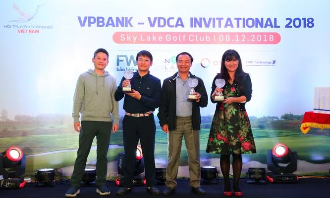 """Hội Truyền thông số Việt Nam tổ chức thành công giải Golf """"VPBank - VDCA Invitational 2018"""" ảnh 3"""