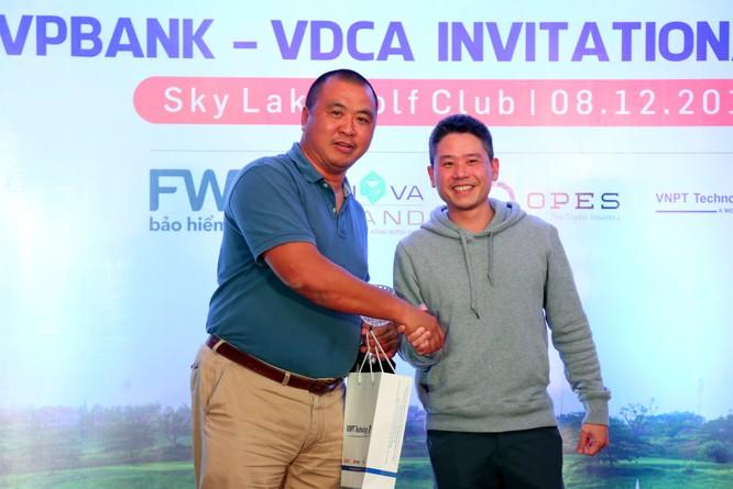 """Hội Truyền thông số Việt Nam tổ chức thành công giải Golf """"VPBank - VDCA Invitational 2018"""" ảnh 4"""