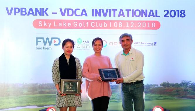 """Hội Truyền thông số Việt Nam tổ chức thành công giải Golf """"VPBank - VDCA Invitational 2018"""" ảnh 1"""