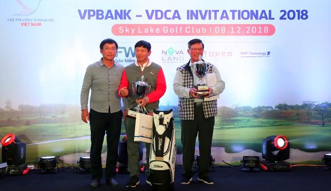 """Hội Truyền thông số Việt Nam tổ chức thành công giải Golf """"VPBank - VDCA Invitational 2018"""" ảnh 5"""