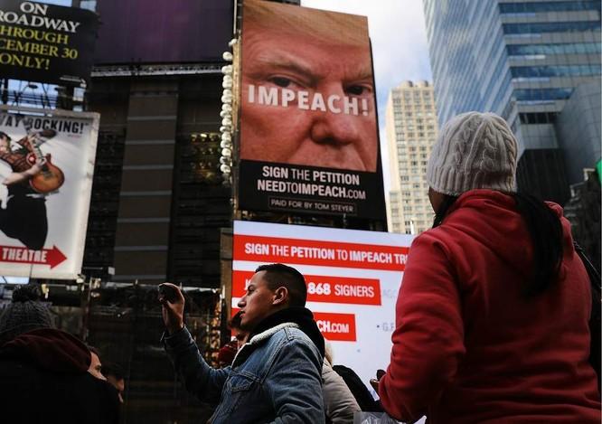 Liệu Tổng thống Mỹ Donald Trump có thể bị luận tội và phế truất? ảnh 5