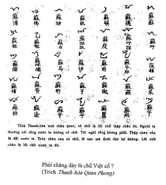 Phần 2 : Cần phải gọi đúng: Tiếng Việt cổ! ảnh 1