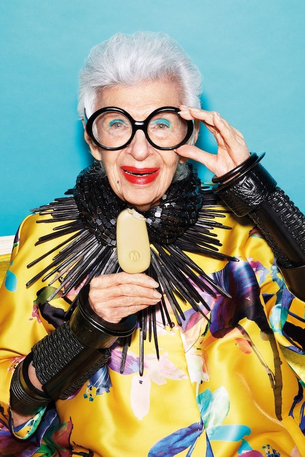 """Cụ bà 97 tuổi - """"con chim quý"""" của thế giới thời trang ảnh 1"""