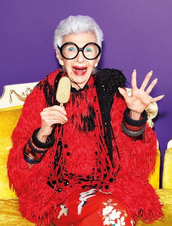 """Cụ bà 97 tuổi - """"con chim quý"""" của thế giới thời trang ảnh 3"""