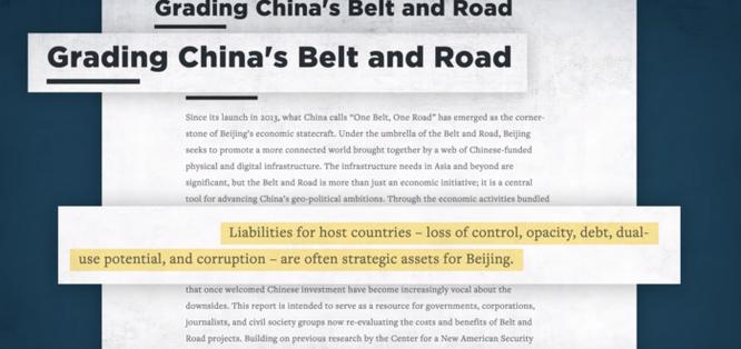Mỹ cảnh báo: 'Đừng rơi vào bẫy nợ' của Trung Quốc ảnh 1