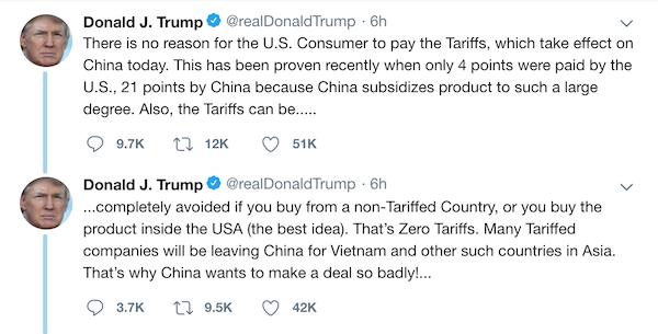 Tổng thống Trump: 'Nhiều công ty sẽ rời Trung Quốc sang Việt Nam' ảnh 1