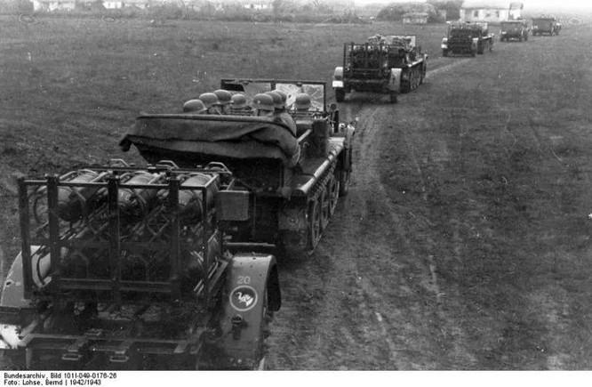 """Đức từng sản xuất súng cối 6 nòng Nebelwerfer đối chọi với BM-13-""""Katyusha"""" của Liên Xô ảnh 2"""