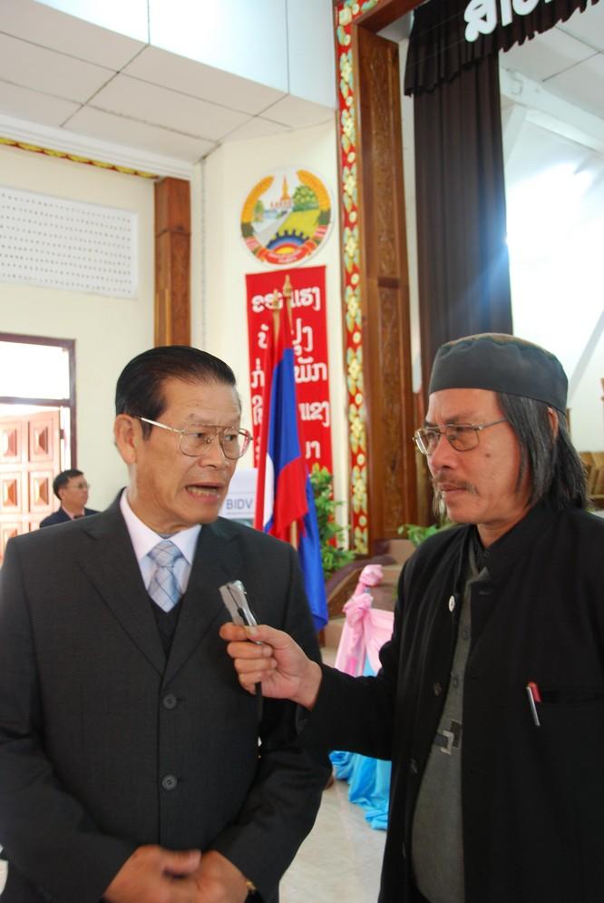 Những người BIDV ở nước bạn Lào ảnh 3