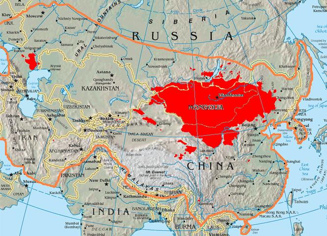 Người Mông Cổ thoát Trung và thoát Xô thế nào? (phần 1) ảnh 2