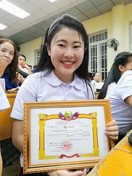 Nữ sinh Lào xinh đẹp, giỏi tiếng Việt, ước mơ trở lại Việt Nam ảnh 2