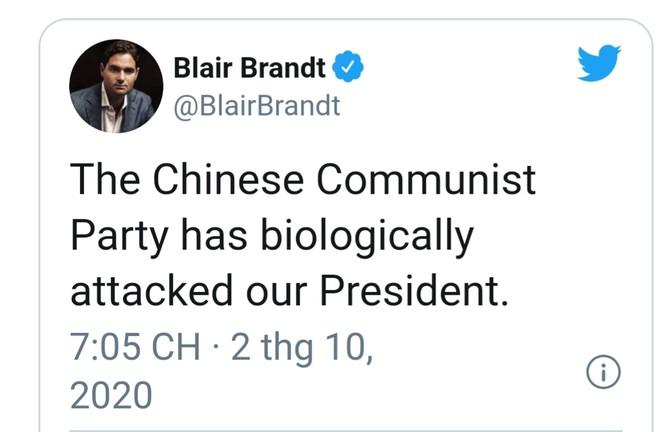 Nghị sĩ Mỹ kết tội Bắc Kinh làm ông Trump nhiễm Covid-19 ảnh 2