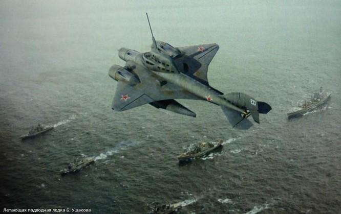 """Vì sao sao Liên Xô từ bỏ """"Tàu ngầm bay"""" - vũ khí từng làm phương Tây bạt vía kinh hồn? ảnh 1"""