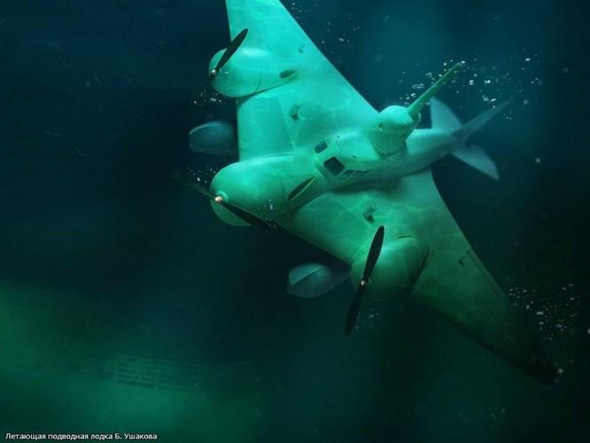 """Vì sao sao Liên Xô từ bỏ """"Tàu ngầm bay"""" - vũ khí từng làm phương Tây bạt vía kinh hồn? ảnh 2"""