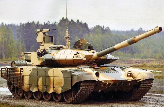 """Siêu xe tăng T-90 """"Vladimir"""" của quân đội Nga: Quái vật trên chiến trường ảnh 2"""