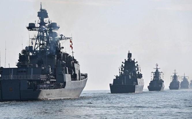 Tương quan sức mạnh Hạm đội Biển Đen của Nga và Hạm đội 6 của Mỹ ảnh 3