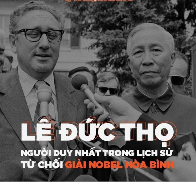 110 năm ngày sinh Lê Đức Thọ (10/10/1911-10/10/2021): Chuyện ông từ chối giải Nobel và... ảnh 6