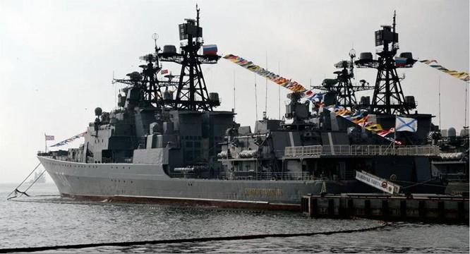"""Tàu được mệnh danh """"Bộ tham mưu chiến tranh giữa các vì sao"""" của Nga có gì? ảnh 1"""