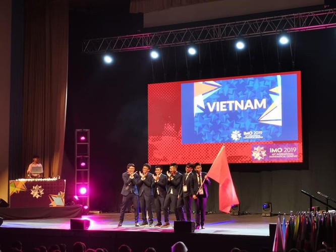 Việt Nam nằm trong top 10 nước đứng đầu về thành tích tại Olympic Toán quốc tế 2019 ảnh 1