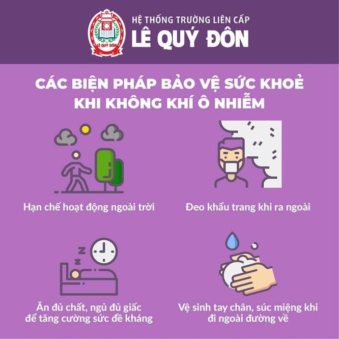Hà Nội: Không khí ô nhiễm, trường học yêu cầu tạm hoãn các hoạt động ngoài trời ảnh 2