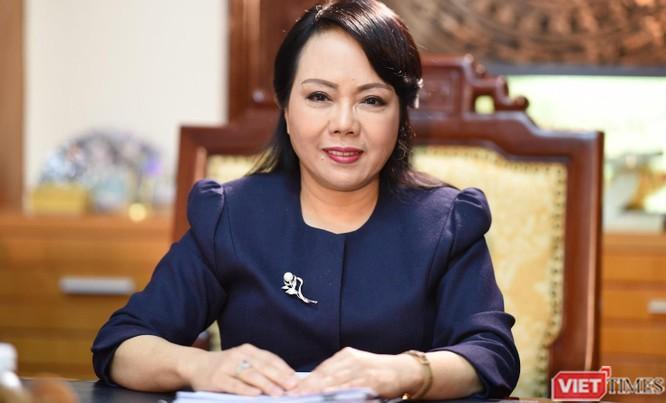 Thủ tướng chúc mừng nguyên Bộ trưởng Bộ Y tế Nguyễn Thị Kim Tiến nhận nhiệm vụ mới ảnh 1