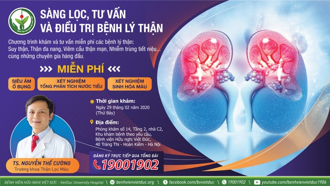 """Mỗi năm Việt Nam có 5 triệu người mắc căn bệnh """"khó nói"""" - Bệnh viện Việt Đức sẽ khám, tư vấn miễn phí ảnh 1"""