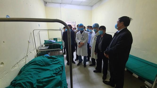 14 ca nhiễm virus Corona: Thứ trưởng Bộ Y tế gấp rút kiểm tra công tác phòng, chống dịch tại biên giới ảnh 4