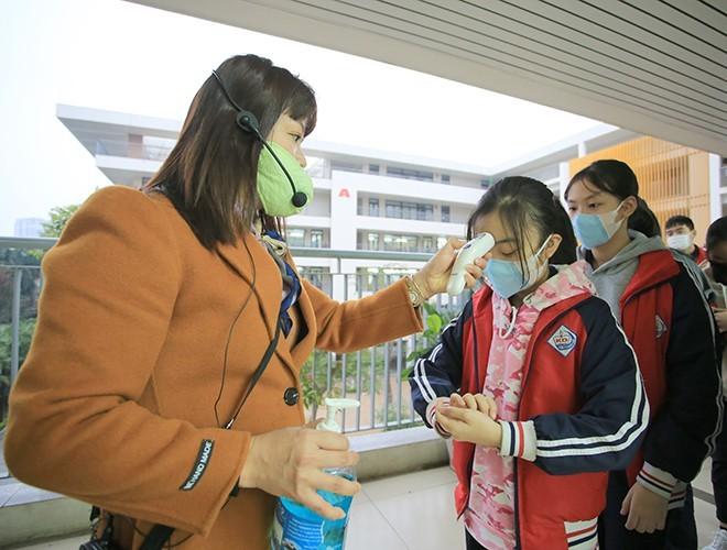 Bộ Y tế: Không để học sinh phải đeo khẩu trang y tế khi đến trường ảnh 2