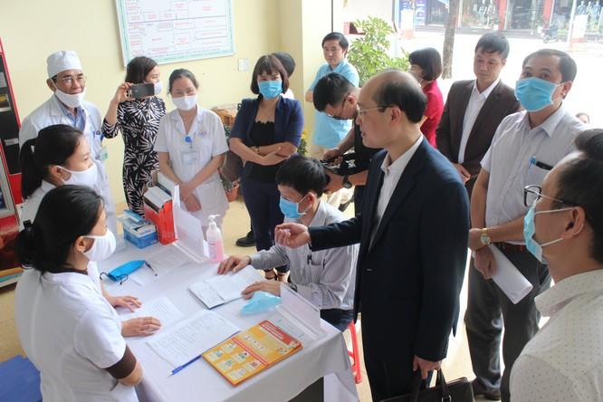 Kiểm tra công tác ứng phó với dịch COVID-19 ở các bệnh viện của Thái Nguyên và Công ty Samsung ảnh 2