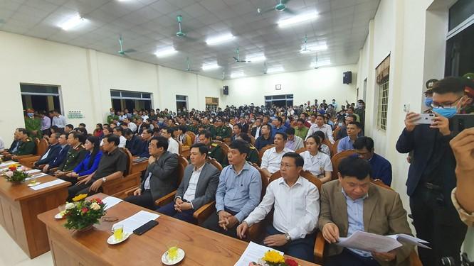 Thứ trưởng Đỗ Xuân Tuyên: Sơn Lôi hết thời gian cách ly mới chỉ là thành công bước đầu trong phòng, chống dịch COVID-19 ảnh 1