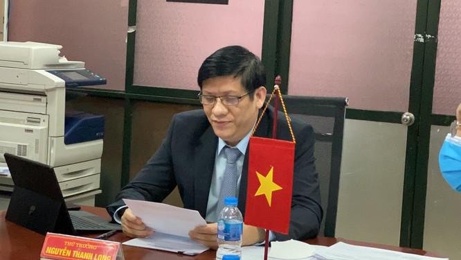 Bộ Y tế Việt Nam cam kết giúp đỡ Lào trong dịch COVID-19 ảnh 1